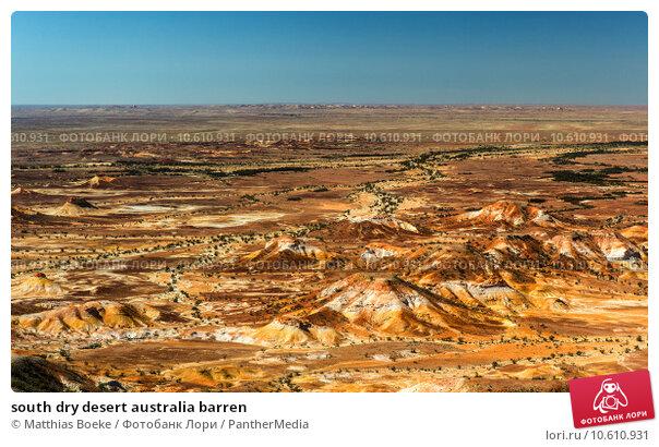 south dry desert australia barren. Стоковое фото, фотограф Matthias Boeke / PantherMedia / Фотобанк Лори