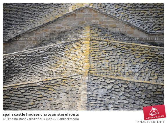 Купить «spain castle houses chateau storefronts», фото № 27811411, снято 18 октября 2018 г. (c) PantherMedia / Фотобанк Лори