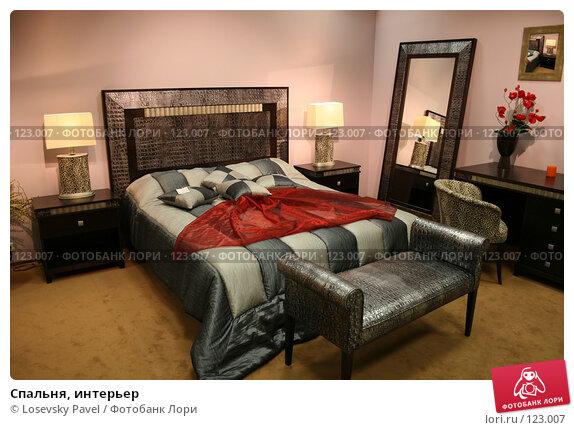 Спальня, интерьер, фото № 123007, снято 24 марта 2006 г. (c) Losevsky Pavel / Фотобанк Лори