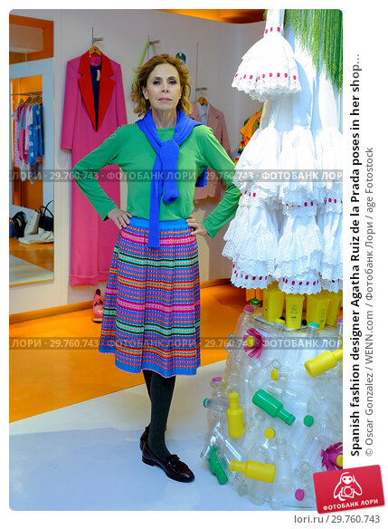 Купить «Spanish fashion designer Agatha Ruiz de la Prada poses in her shop in Madrid, Spain. Featuring: Agatha Ruiz de la Prada Where: Madrid, Spain When: 21 Feb 2018 Credit: Oscar Gonzalez/WENN.com», фото № 29760743, снято 21 февраля 2018 г. (c) age Fotostock / Фотобанк Лори
