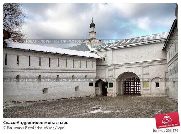 Купить «Спасо-Андроников монастырь», фото № 206379, снято 20 февраля 2008 г. (c) Parmenov Pavel / Фотобанк Лори