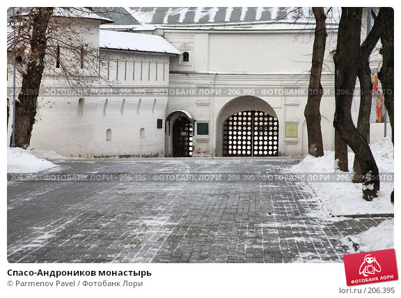 Купить «Спасо-Андроников монастырь», фото № 206395, снято 20 февраля 2008 г. (c) Parmenov Pavel / Фотобанк Лори