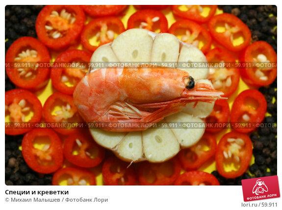 Специи и креветки, фото № 59911, снято 20 января 2006 г. (c) Михаил Малышев / Фотобанк Лори