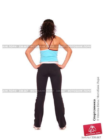 Спортсменка, фото № 338667, снято 10 мая 2008 г. (c) Vdovina Elena / Фотобанк Лори