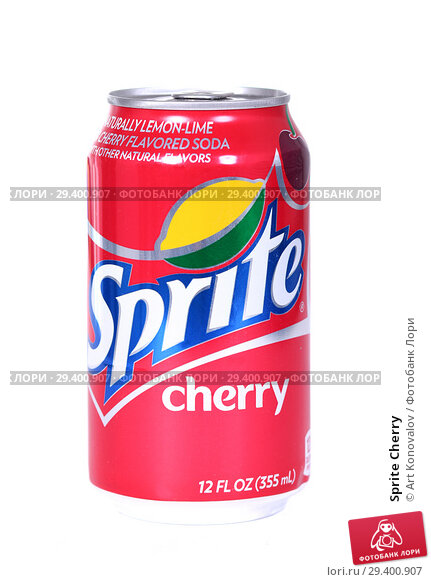 Купить «Sprite Cherry», фото № 29400907, снято 7 ноября 2018 г. (c) Art Konovalov / Фотобанк Лори