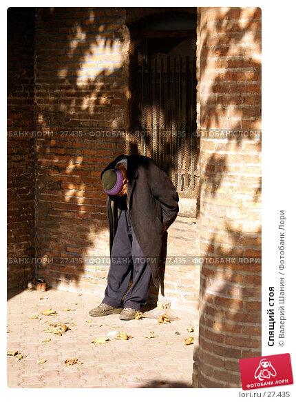 Спящий стоя, фото № 27435, снято 20 ноября 2006 г. (c) Валерий Шанин / Фотобанк Лори
