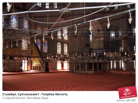 Купить «Стамбул. Султанахмет - Голубая Мечеть», фото № 251391, снято 31 августа 2007 г. (c) Сергей Плотко / Фотобанк Лори