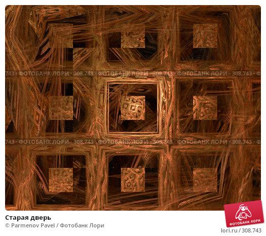 Старая дверь, иллюстрация № 308743 (c) Parmenov Pavel / Фотобанк Лори
