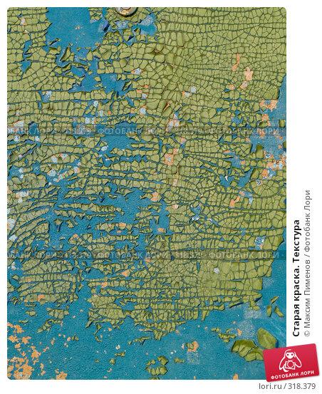 Купить «Старая краска. Текстура», фото № 318379, снято 13 апреля 2008 г. (c) Максим Пименов / Фотобанк Лори