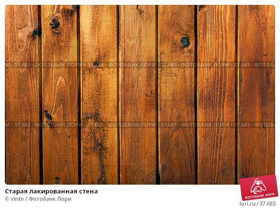 Старая лакированная стена. Стоковое фото, фотограф vlntn / Фотобанк Лори