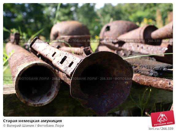 Купить «Старая немецкая амуниция», фото № 266339, снято 29 июля 2007 г. (c) Валерий Шанин / Фотобанк Лори