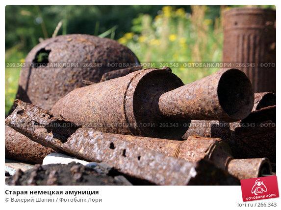 Старая немецкая амуниция, фото № 266343, снято 29 июля 2007 г. (c) Валерий Шанин / Фотобанк Лори