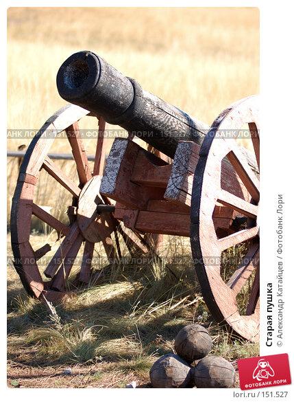 Купить «Старая пушка», фото № 151527, снято 27 сентября 2007 г. (c) Александр Катайцев / Фотобанк Лори