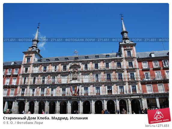 Старинный Дом Хлеба. Мадрид. Испания, фото № 271651, снято 22 апреля 2008 г. (c) Екатерина Овсянникова / Фотобанк Лори