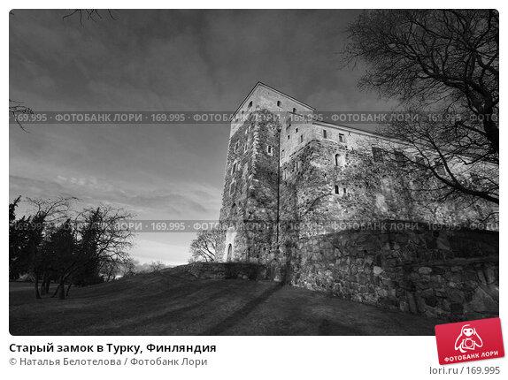 Старый замок в Турку, Финляндия, фото № 169995, снято 30 декабря 2007 г. (c) Наталья Белотелова / Фотобанк Лори
