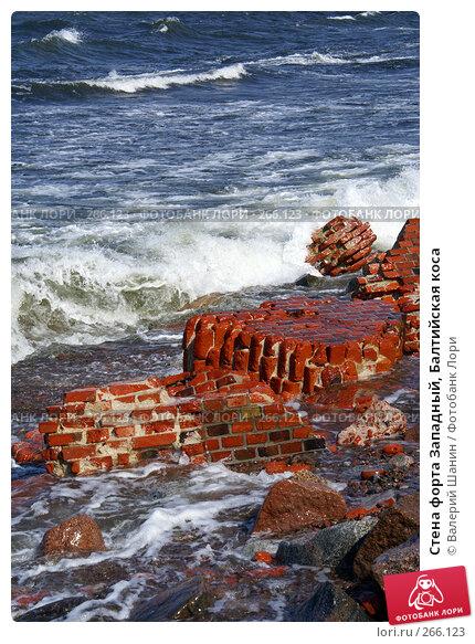 Стена форта Западный, Балтийская коса, фото № 266123, снято 23 июля 2007 г. (c) Валерий Шанин / Фотобанк Лори