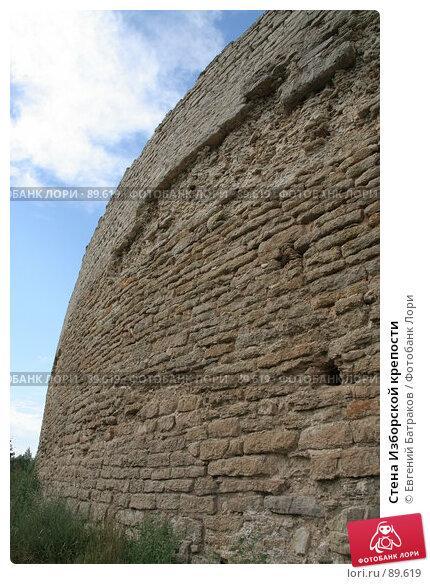 Стена Изборской крепости, фото № 89619, снято 18 августа 2007 г. (c) Евгений Батраков / Фотобанк Лори