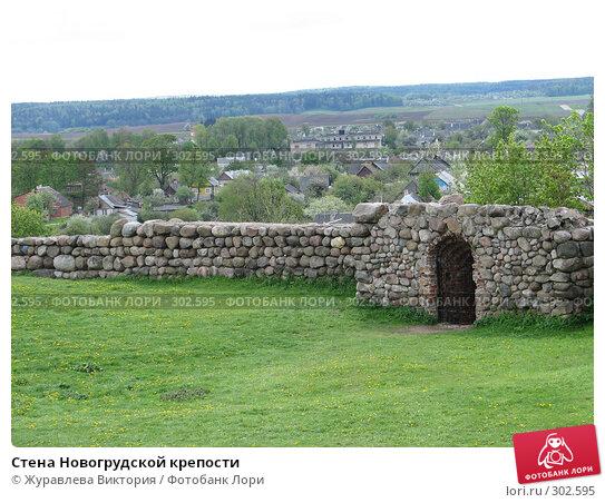 Стена Новогрудской крепости, фото № 302595, снято 20 ноября 2007 г. (c) Журавлева Виктория / Фотобанк Лори