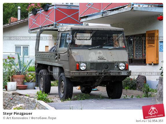 Steyr Pinzgauer (2014 год). Редакционное фото, фотограф Art Konovalov / Фотобанк Лори