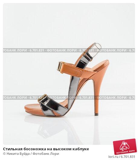 Купить «Стильная босоножка на высоком каблуке», фото № 6701831, снято 25 февраля 2013 г. (c) Никита Буйда / Фотобанк Лори