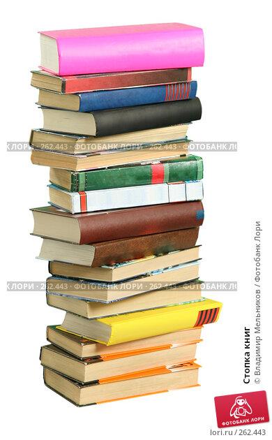 Стопка книг, фото № 262443, снято 24 октября 2007 г. (c) Владимир Мельников / Фотобанк Лори