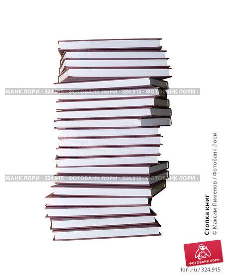 Купить «Стопка книг», фото № 324915, снято 20 декабря 2006 г. (c) Максим Пименов / Фотобанк Лори