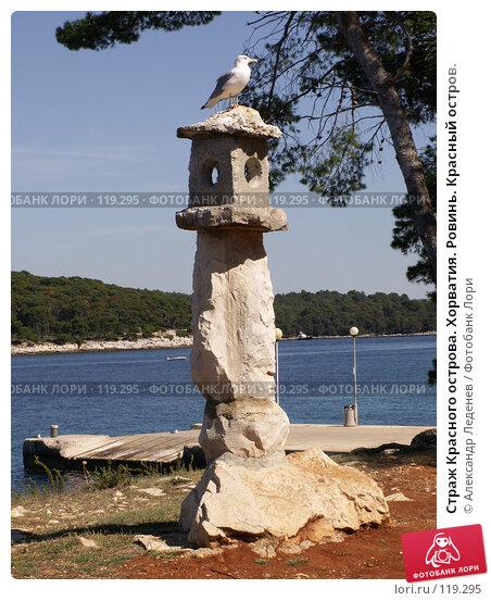 Страж Красного острова. Хорватия. Ровинь. Красный остров., фото № 119295, снято 22 сентября 2007 г. (c) Александр Леденев / Фотобанк Лори