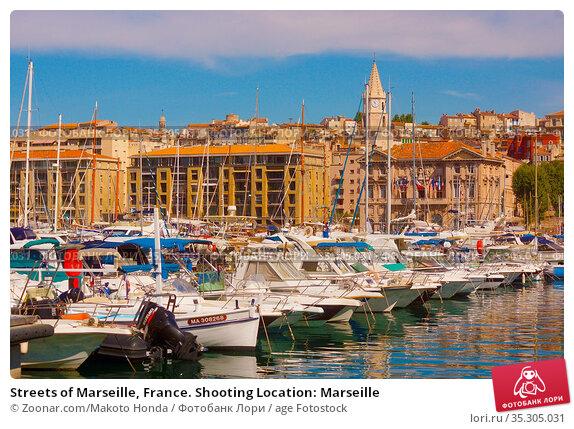 Streets of Marseille, France. Shooting Location: Marseille. Стоковое фото, фотограф Zoonar.com/Makoto Honda / age Fotostock / Фотобанк Лори