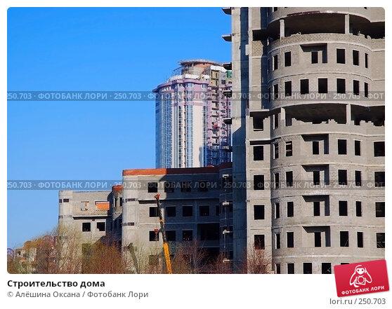 Строительство дома, эксклюзивное фото № 250703, снято 9 апреля 2008 г. (c) Алёшина Оксана / Фотобанк Лори