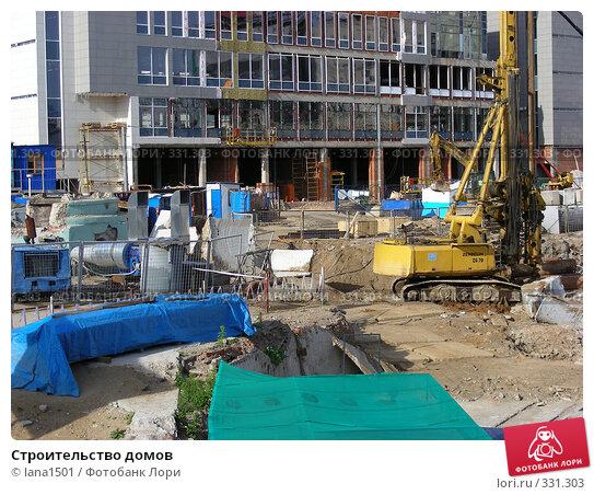 Строительство домов, эксклюзивное фото № 331303, снято 10 июня 2008 г. (c) lana1501 / Фотобанк Лори