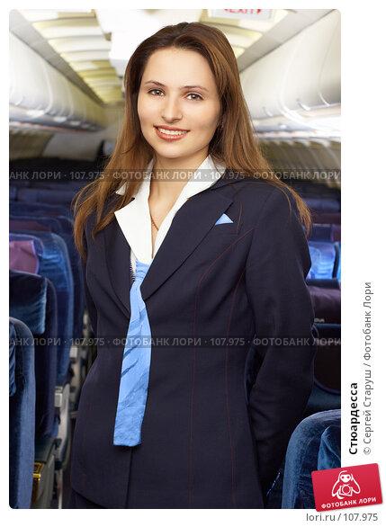 Стюардесса, фото № 107975, снято 8 февраля 2007 г. (c) Сергей Старуш / Фотобанк Лори