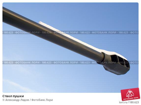 Ствол пушки, фото № 180623, снято 20 января 2008 г. (c) Александр Лядов / Фотобанк Лори