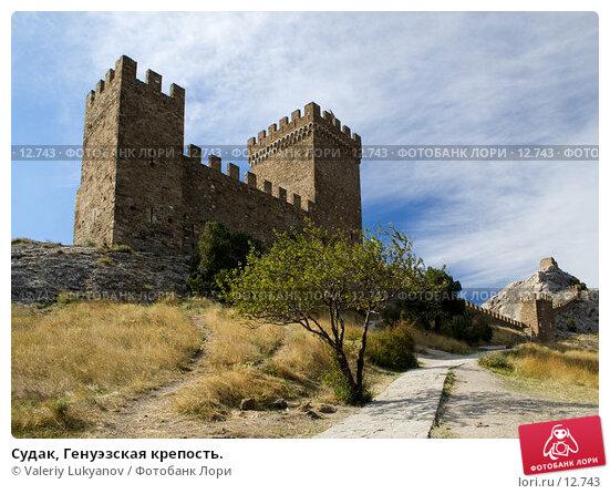 Судак, Генуэзская крепость., фото № 12743, снято 11 сентября 2006 г. (c) Valeriy Lukyanov / Фотобанк Лори