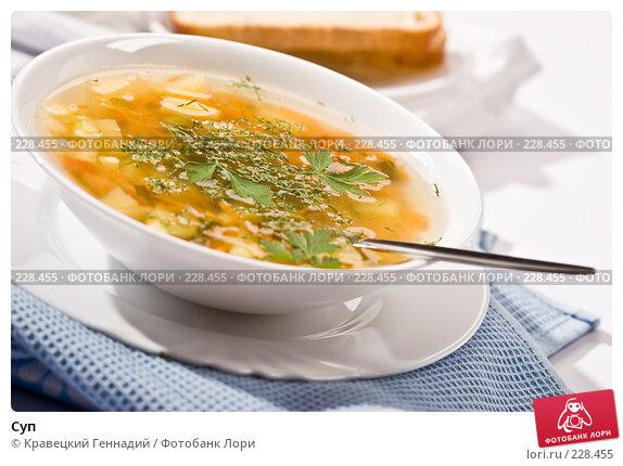 Купить «Суп», фото № 228455, снято 18 сентября 2005 г. (c) Кравецкий Геннадий / Фотобанк Лори