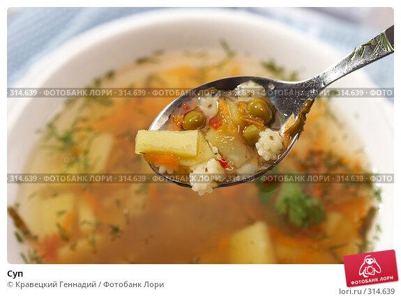 Суп, фото № 314639, снято 18 сентября 2005 г. (c) Кравецкий Геннадий / Фотобанк Лори