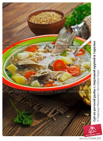Рыбный суп из речной рыбы