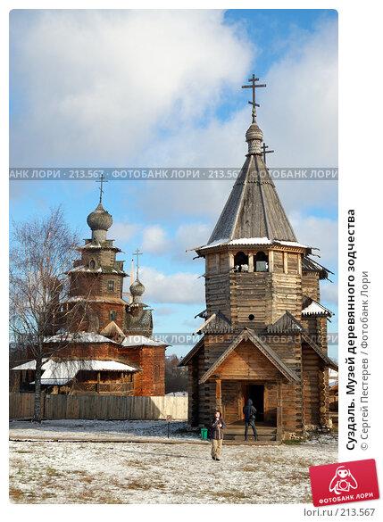 Суздаль. Музей деревянного зодчества, фото № 213567, снято 6 ноября 2007 г. (c) Сергей Пестерев / Фотобанк Лори