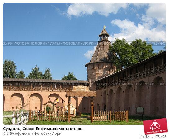 Суздаль, Спасо-Евфимьев монастырь, фото № 173495, снято 18 августа 2006 г. (c) ИВА Афонская / Фотобанк Лори