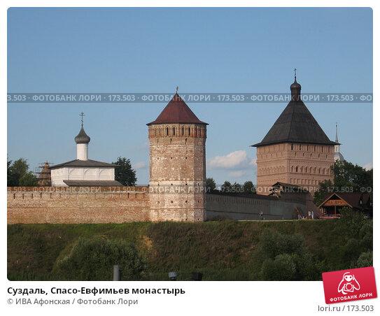 Суздаль, Спасо-Евфимьев монастырь, фото № 173503, снято 18 августа 2006 г. (c) ИВА Афонская / Фотобанк Лори