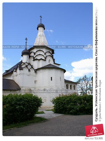 Суздаль. Успенская трапезная церковь Спасо-Евфимиева монастыря, фото № 53995, снято 11 июня 2007 г. (c) Julia Nelson / Фотобанк Лори