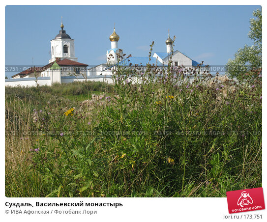 Купить «Суздаль, Васильевский монастырь», фото № 173751, снято 19 августа 2006 г. (c) ИВА Афонская / Фотобанк Лори