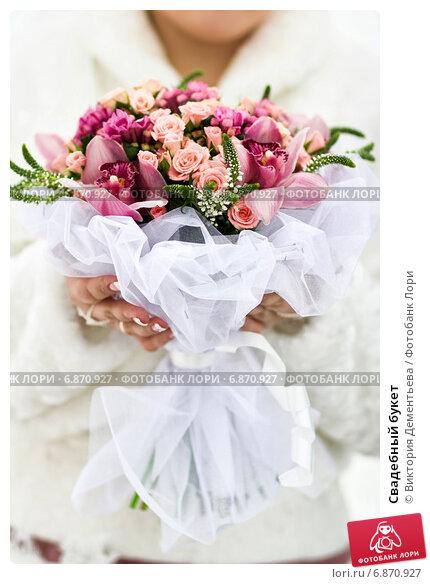 Свадебный букет. Стоковое фото, фотограф Виктория Дементьева / Фотобанк Лори