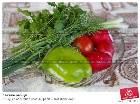 Свежие овощи, фото № 291311, снято 19 мая 2008 г. (c) Окунев Александр Владимирович / Фотобанк Лори
