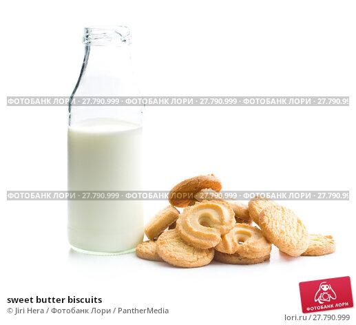 Купить «sweet butter biscuits», фото № 27790999, снято 22 октября 2018 г. (c) PantherMedia / Фотобанк Лори