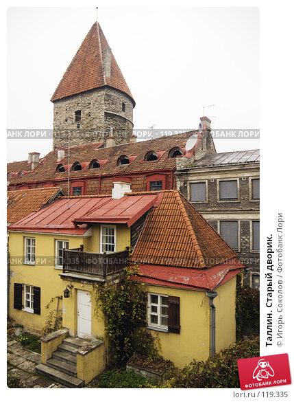 Таллин. Старый дворик., фото № 119335, снято 28 апреля 2017 г. (c) Игорь Соколов / Фотобанк Лори