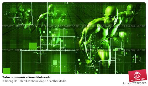 Купить «Telecommunications Network», фото № 27797687, снято 20 октября 2018 г. (c) PantherMedia / Фотобанк Лори