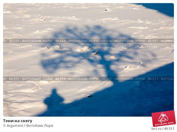 Тени на снегу, фото № 49511, снято 9 февраля 2007 г. (c) Argument / Фотобанк Лори