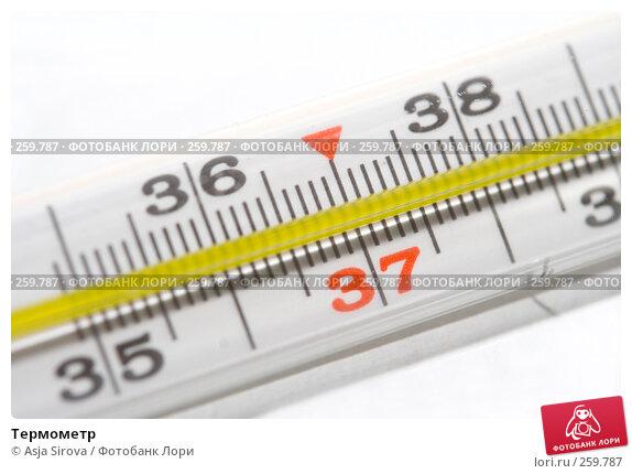 Термометр, фото № 259787, снято 19 апреля 2008 г. (c) Asja Sirova / Фотобанк Лори