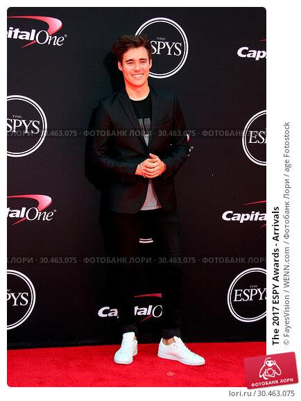 The 2017 ESPY Awards - Arrivals. Редакционное фото, фотограф FayesVision / WENN.com / age Fotostock / Фотобанк Лори