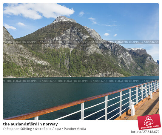 Купить «the aurlandsfjörd in norway», фото № 27818679, снято 16 октября 2018 г. (c) PantherMedia / Фотобанк Лори